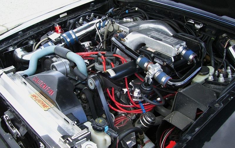 Karakterističan izgled bloka motora