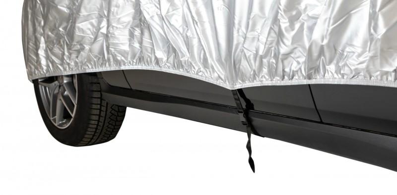 Cerada za auto jednostavno se montira